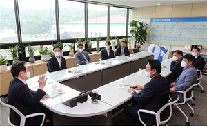 이재명, 정세균 인천에서 지지세 확산 용트림 시동